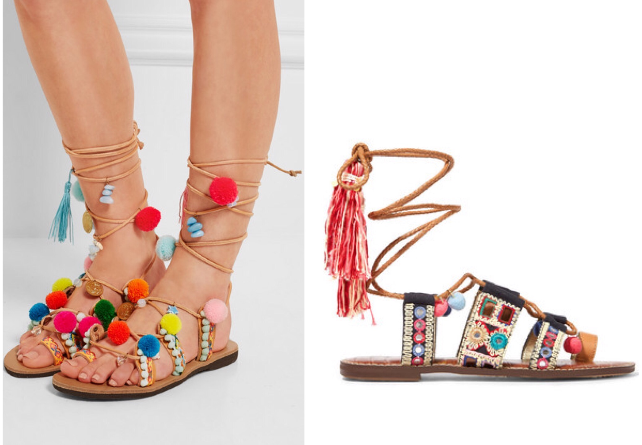 6794349934b502 What do you think of this boho-inspired sandal  Have a great Monday and  week!