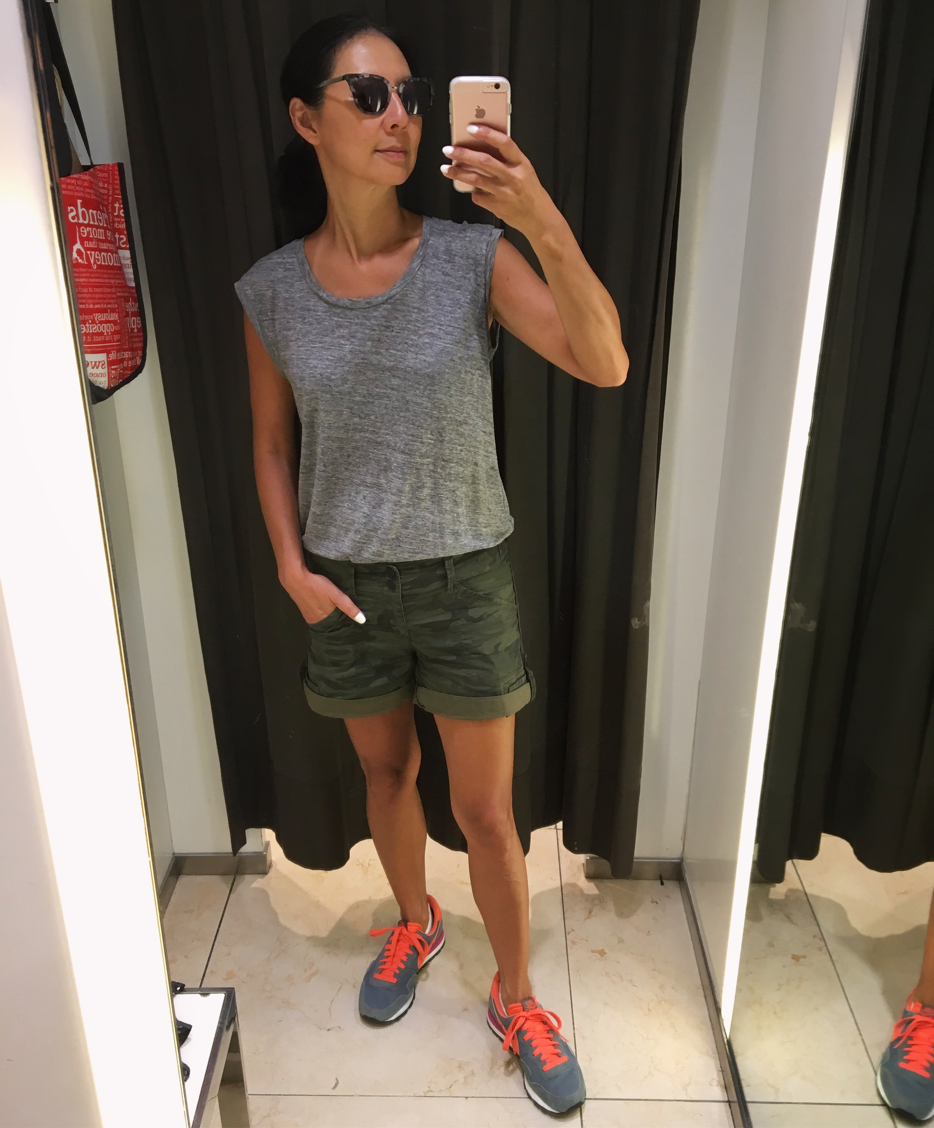 63e8738649 Madewell linen muscle tee (old